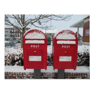 Courrier Danmark -- Boîtes aux lettres danoises Cartes Postales