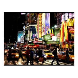 Courrier de Times Square Cartes Postales