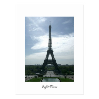 Courrier de Tour Eiffel Carte Postale