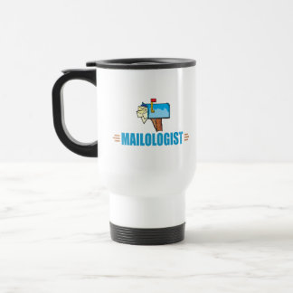 Courrier drôle mug de voyage