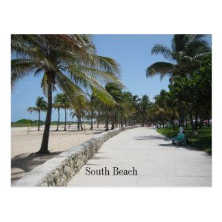 Courrier du sud 1 de plage cartes postales