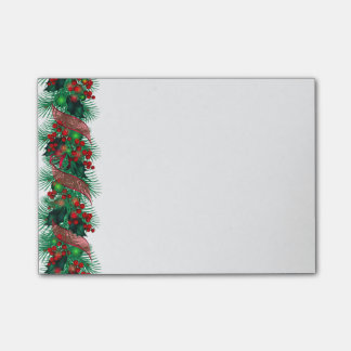 Courrier--Notes de guirlande de Noël