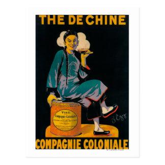 Courrier promotionnel de De Chine, Colonial Cartes Postales