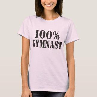 Courroie 100% de spaghetti de gymnaste t-shirt