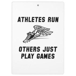 Course d'athlètes