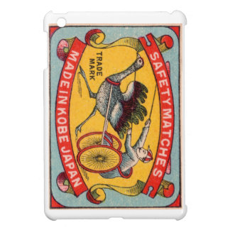 Course d'attelages antique Kobe d'autruche Coques iPad Mini