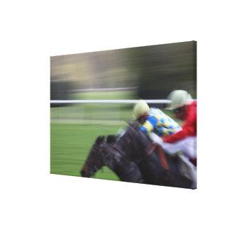 course de cheval 3 toiles
