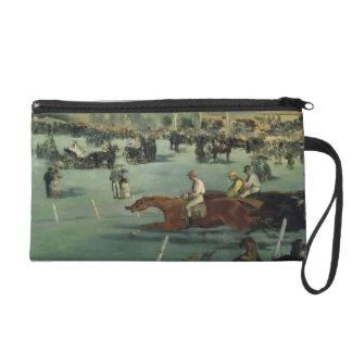 Course de chevaux de Manet |, 1872 Pochettes Avec Dragonne