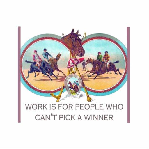 Course de chevaux drôle - travaillez pour les pers photos en relief