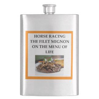 course de chevaux flacon