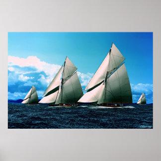 course de yacht historique posters
