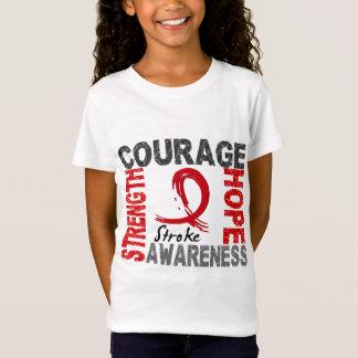 Course d'espoir de courage de force T-Shirt