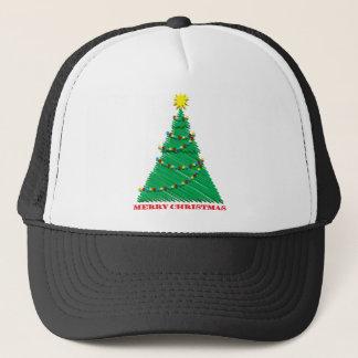 Course peu précise d'arbre de Joyeux Noël Casquettes