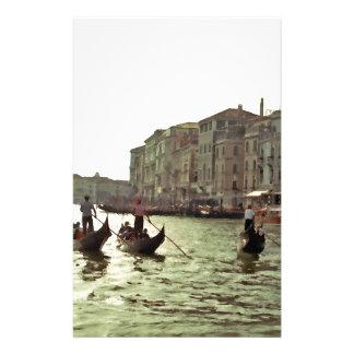 Course Venise de gondole Papeterie