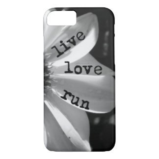 Course vivante d'amour par des conceptions de coque iPhone 7