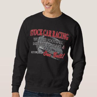 Courses d'automobiles courantes sweatshirt
