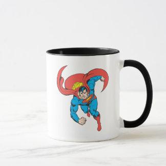 Courses de Superman en avant Tasse