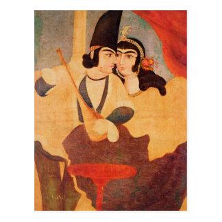 Courtisan de la cour de Shah Abbas Carte Postale