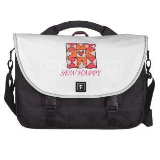 Cousez heureux sacs ordinateurs portables