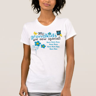 Cousez le T-shirt personnalisé par Grandkids