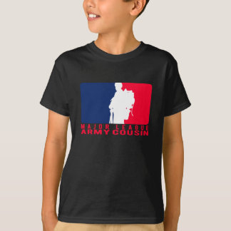 Cousin d'armée de ligue t-shirt