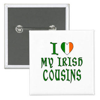 Cousins d'Irlandais d'amour Badge