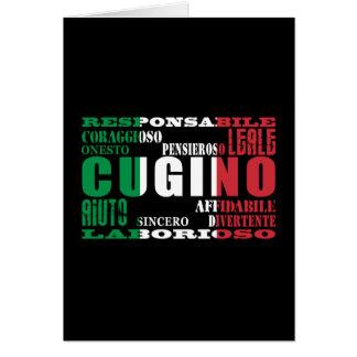 Cousins italiens : Qualités Cartes
