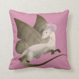 Coussin 2 de carré de dragon de papillon