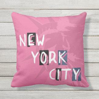 Coussin 40,6 cm x 40,6 cm NYC