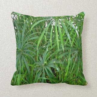 Coussin à la maison asiatique en bambou vert de