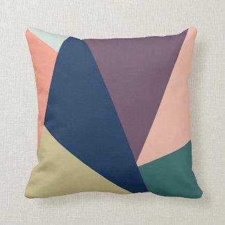 Coussin abstrait de couleur