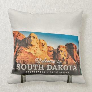 Coussin Accueil au signe du Dakota du Sud