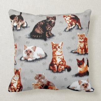 Coussin Adoptez un chat de refuge pour animaux