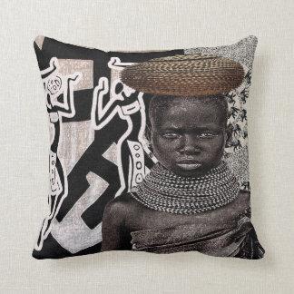 Coussin africain urbain de conception