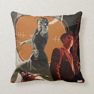 Coussin Agent Carter et collage rigide de Howard