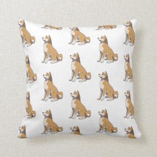 Coussin Akita Inu pillow
