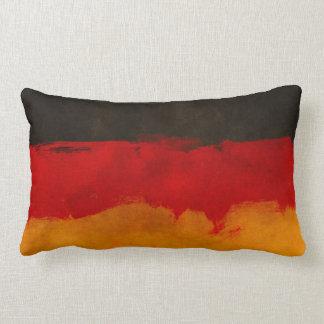 Coussin allemand abstrait frais de drapeau ou