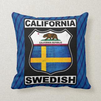 Coussin américain suédois de la Californie
