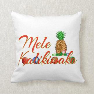 Coussin Ananas de Hawaïen de Mele Kalikimaka