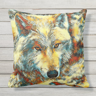 Coussin AnimalArt_Wolf_20170603_by_JAMColors