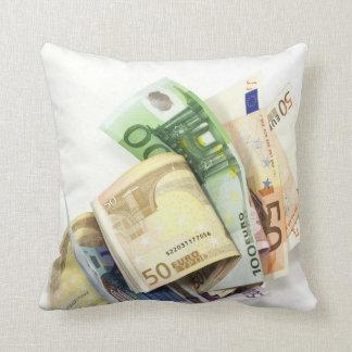 Coussin argent plein