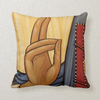 Coussin Art religieux de signal de main