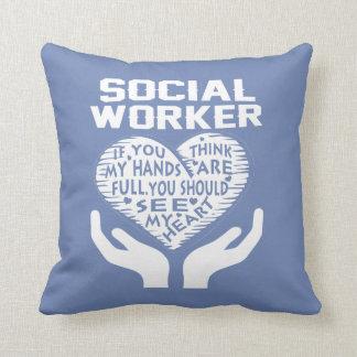 Coussin Assistant social