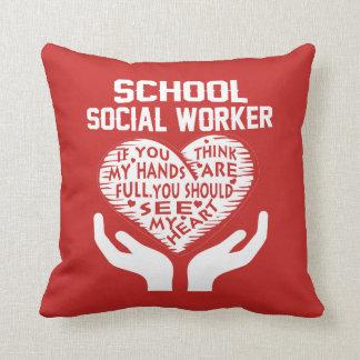 Coussin Assistant social d'école