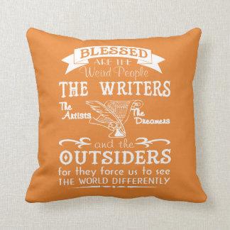 Coussin Auteurs, artistes, rêveurs