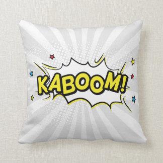 Coussin Bande dessinée de Kaboom de bande dessinée de
