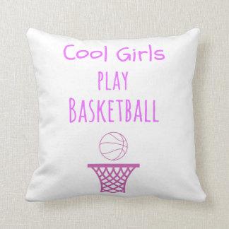 Coussin Basket-ball frais de jeu de filles