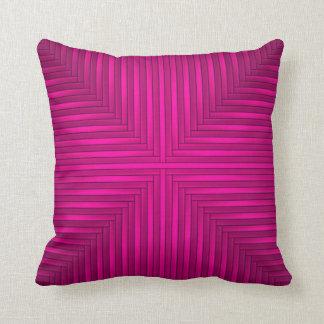 Coussin Beau carreau de luxe rose moderne