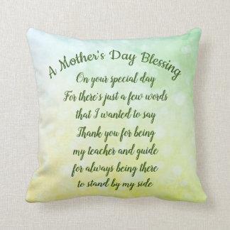 Coussin Bénédiction du jour de mère