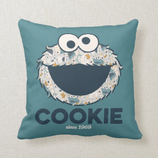Coussin Biscuit du monstre | de biscuit depuis 1969